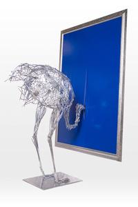 Misplaced Installation: Homage to Lucio Fontana (Large)