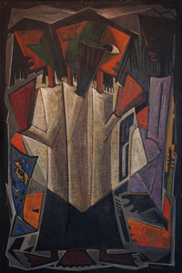 Untitled (Abstract Figures)