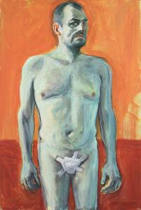 Self Portrait with Cut Penis. Homage to Van Gogh