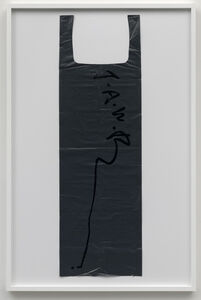 Untitled (Garbage Bag Grey #1)