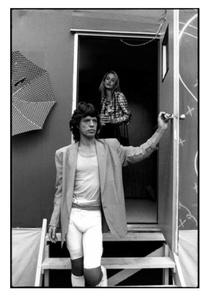 Mick Jagger & Jerry Hall, October 24-25, 1981, Tangerine Bowl