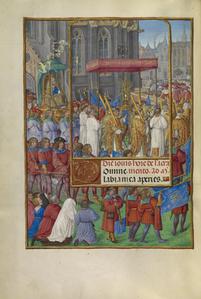Procession for Corpus Christi