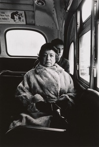 Lady on a bus, N.Y.C.