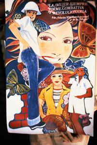 Poster Celebrating Women, Havana Graphic Workshop