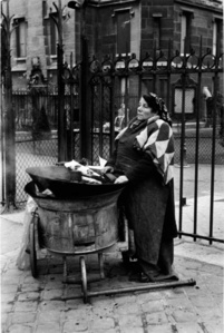 Chestnut Vendor, Paris, France. 1950