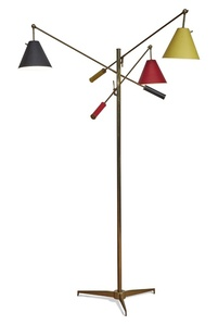 Triennale Floor Lamp, Model No. 12128