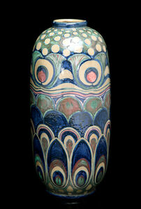 Liberty Feathers and Blooms Vase