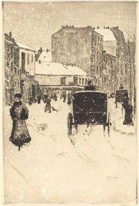 Boulevard Clichy in the Snow (Le boulevard Clichy par un temps de neige)