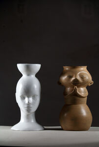 Untitled (Urn and Mannequin)