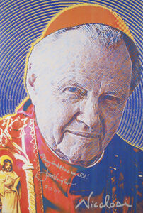 Portrait of Jon Voigt as the Pope