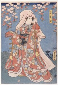Lady with Rich Robe