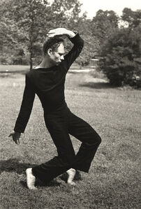 Merce Cunningham Dancing