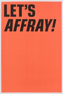 LET'S AFFRAY!