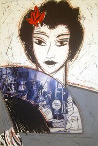 Dama con Abanico II