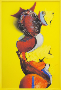 Untitled (Yellow Banana and Red Sponge)
