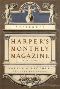 Harper's Monthly Magazine Cover