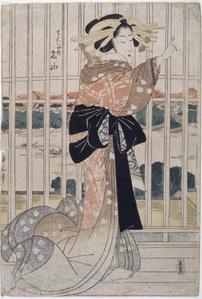 The Courtesan Meizan of the Chōjiya