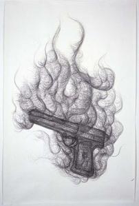 Burning Gun