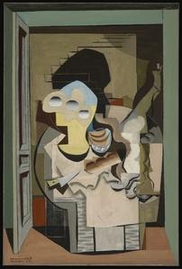 Anvers (Cubist Composition)