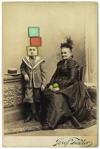Untitled (Block Head Grandson)