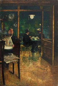 »Im Café Bauer, Berlin«