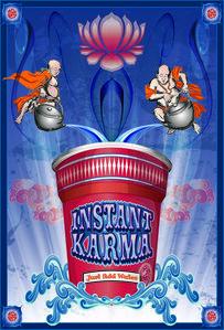Instant Karma – Blue