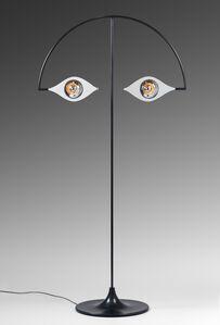 """""""Les Yeux sans Visage"""" floor lamp"""