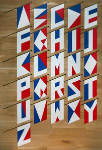 Abécédaire de drapeaux français
