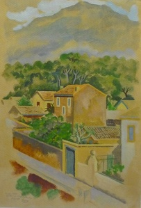 Häuser bei Marseille