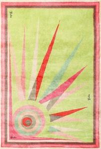 Mid Century Art Deco Rug