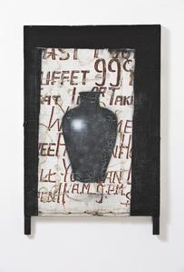 Untitled (black urn)