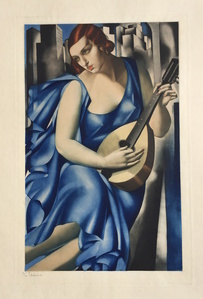 Woman with Mandoline (Femme a la Guitare)