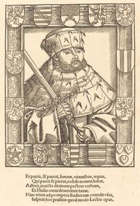 John Frederic the Magnanimous, in Electoral Robes