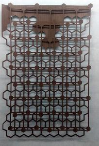 Celosía composición de hexágonos / Lattice composition of assimetric hexagon