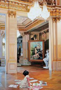 The Costume of Painter - Phantom of Museum O, sketch girl