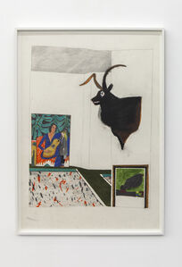 Deer, Matisse and Miro