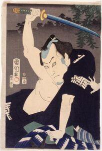 Ichikawa Kuzō Iii In the Role of Nakama Ichisuke
