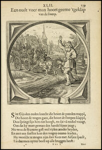 Een oudt voer-man hoort geerne 'tgeklap van de sweep