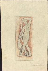 Diane au levrier (Diana and a Greyhound)