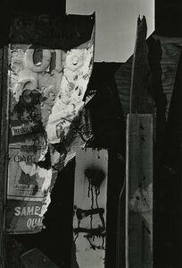 Abstract Metal Sign, New York