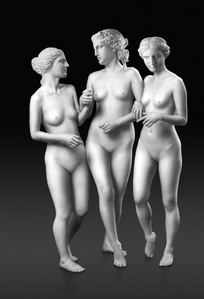 Walking Three Graces
