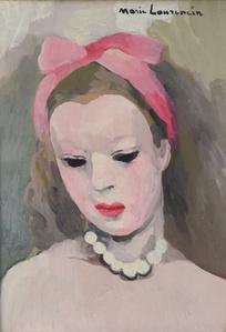Suzanne au Foulard Rose