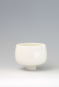 White Foam Glaze Tea Bowl