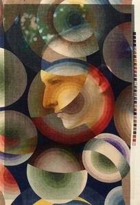 Oliver Adkonis Profile Berlin (on Delauney print)