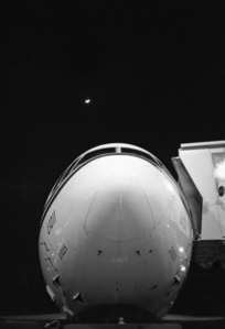 Moonrise Over Lockheed - JFK