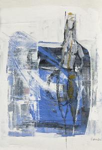 Blue Figure II