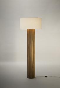 FLOOR LAMP in Walnut by Tinatin Kilaberidze