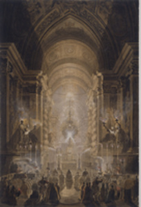 Holy Sacrament in the Pauline Chapel