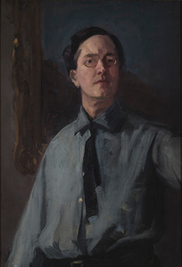Self Portrait in Gray Shirt