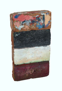 """Historical Bricks """"from Hudson River in Poughkeepsie"""" (front)"""